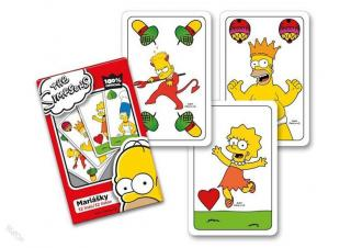 The Simpsons: Mariášky [Karty]